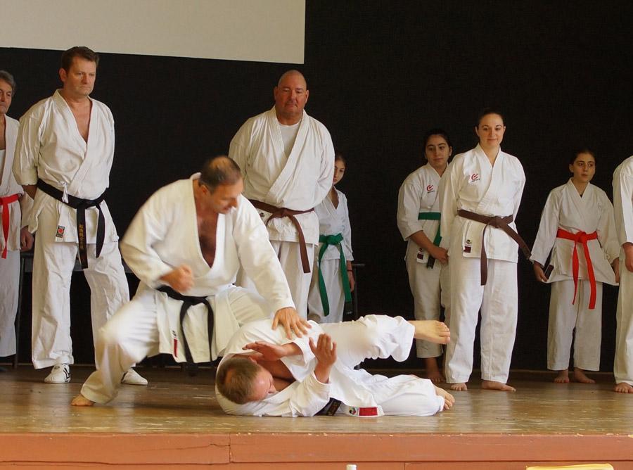 Karate in der Anwendung, Selbstverteidigung Timo vs. Serdal